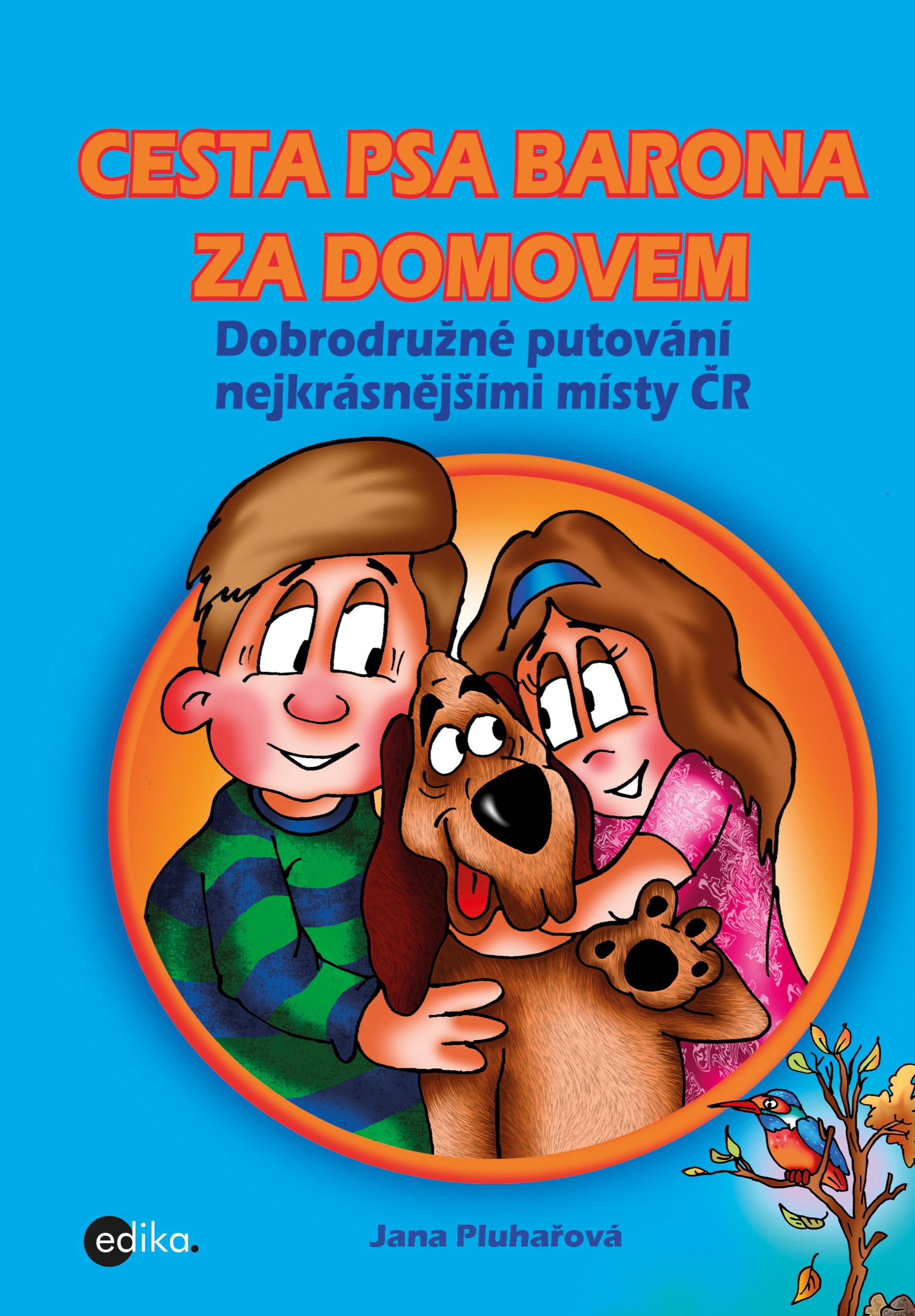 Cesta psa Barona za domovem | Jana Pluhařová