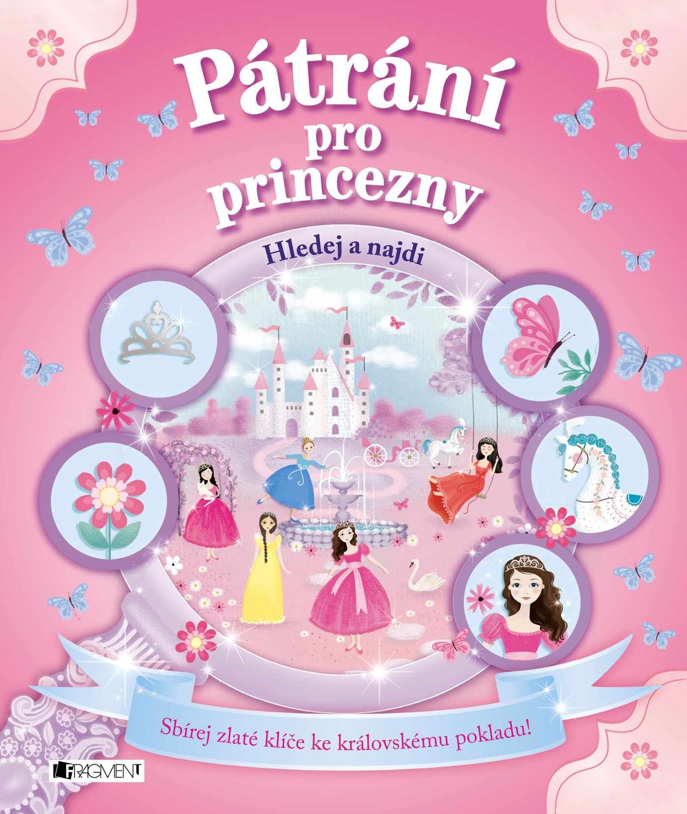 Pátrání pro princezny - Sbírej zlaté klíče ke královskému pokladu
