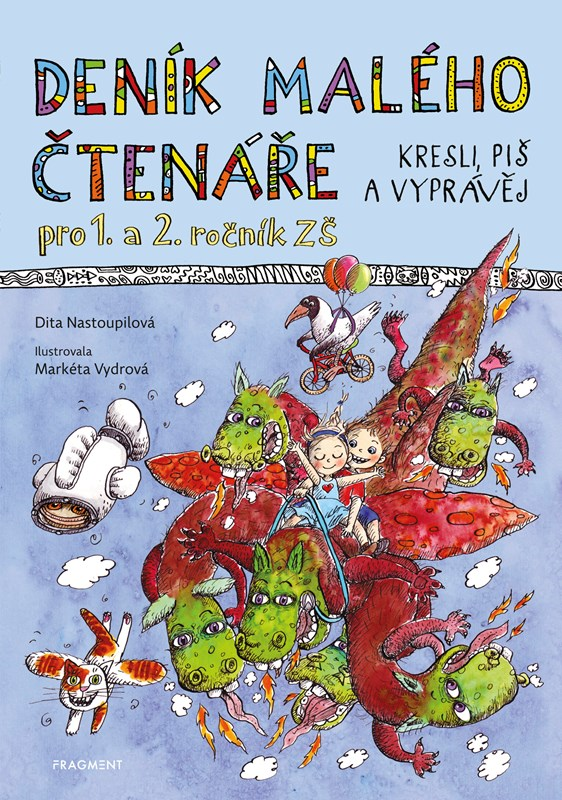 Deník malého čtenáře | Dita Nastoupilová