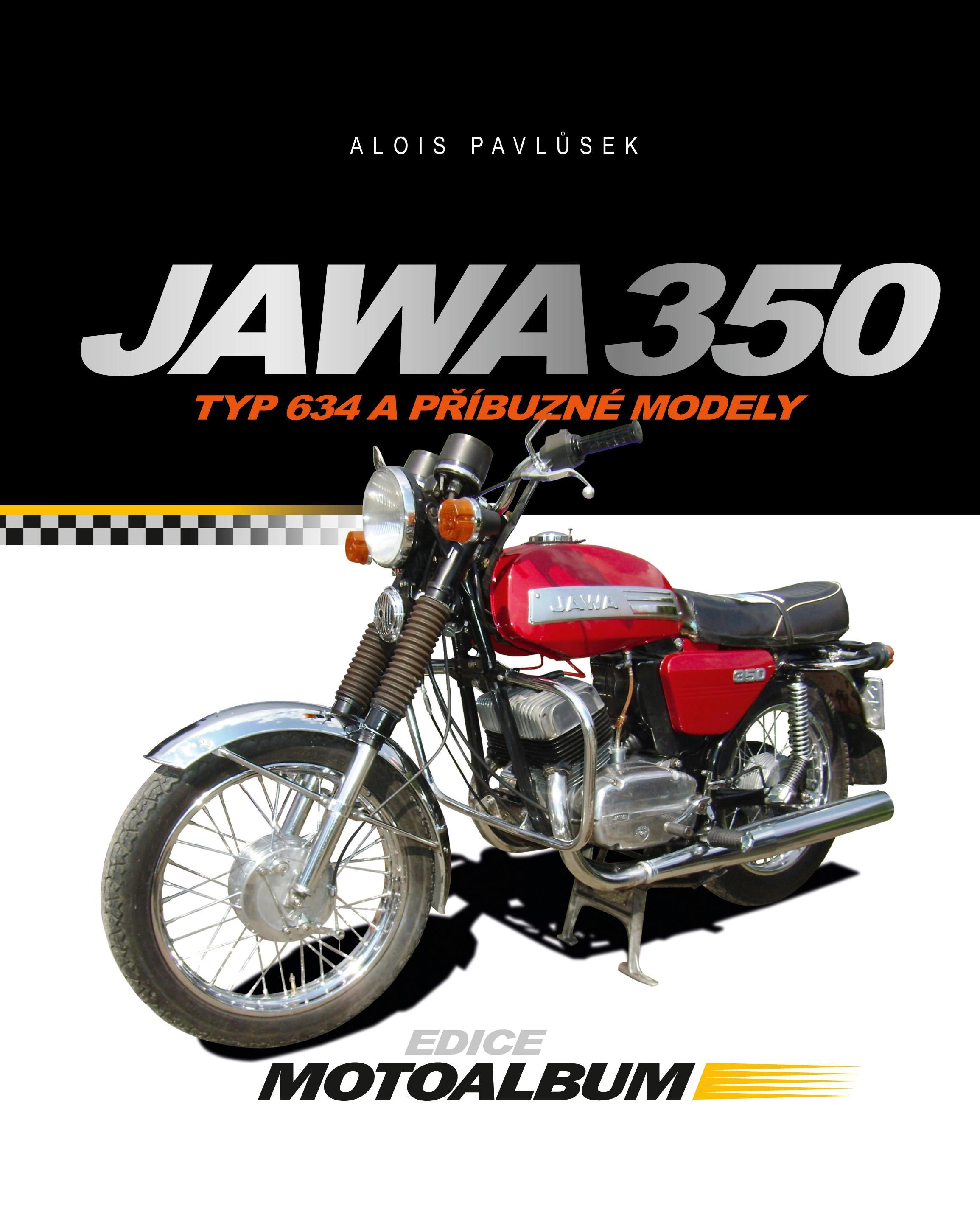 JAWA 350 (TYP 634 A PŘÍBUZNÉ MODELY)