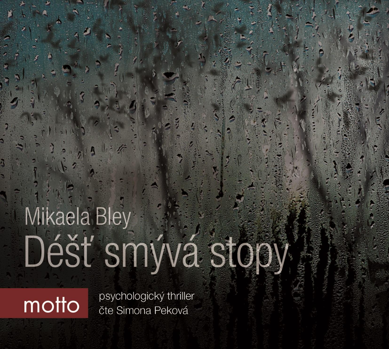Déšť smývá stopy (audiokniha)