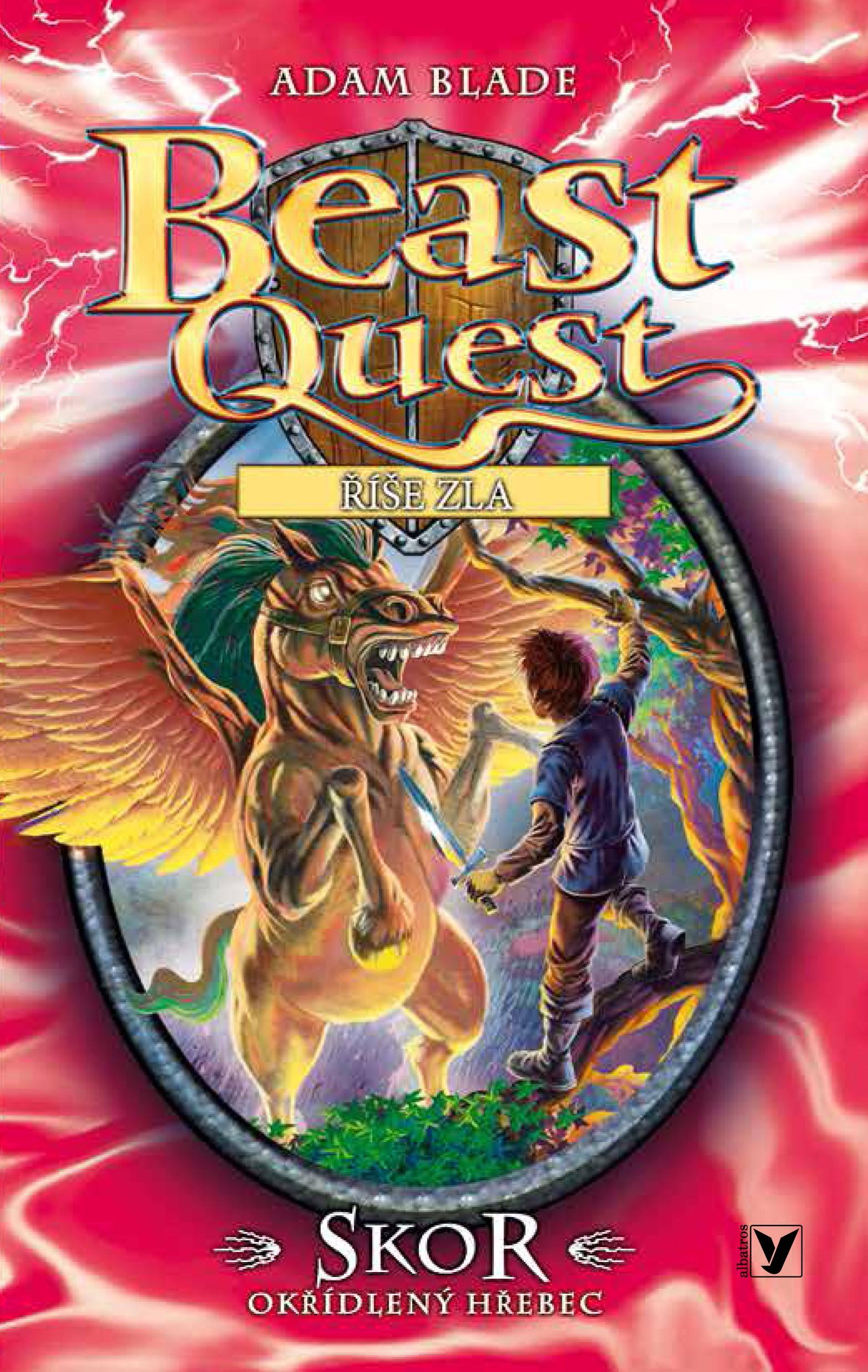 Skor, okřídlený hřebec - Beast Quest (14)