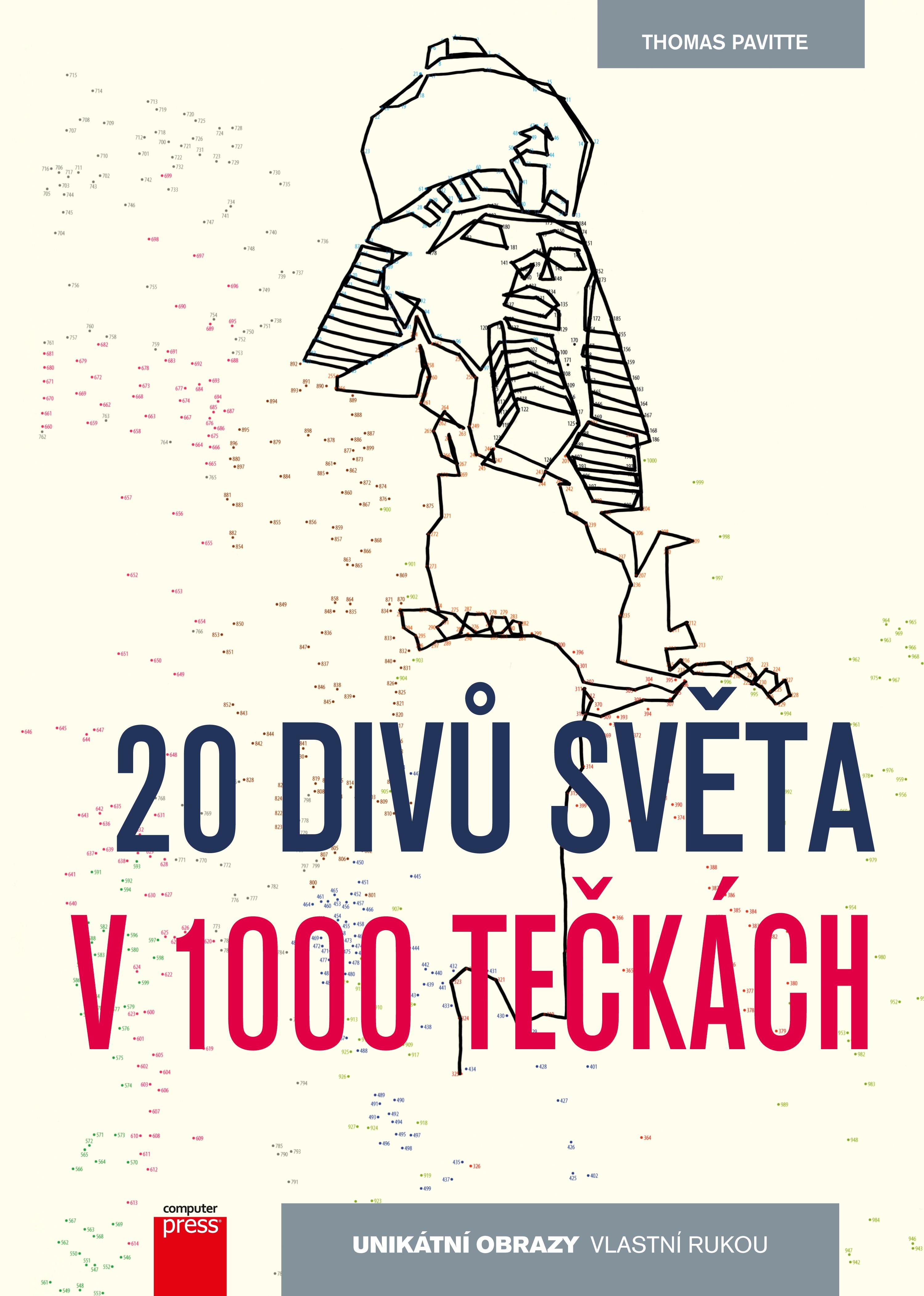 20 divů světa v 1000 tečkách   Thomas Pavitte