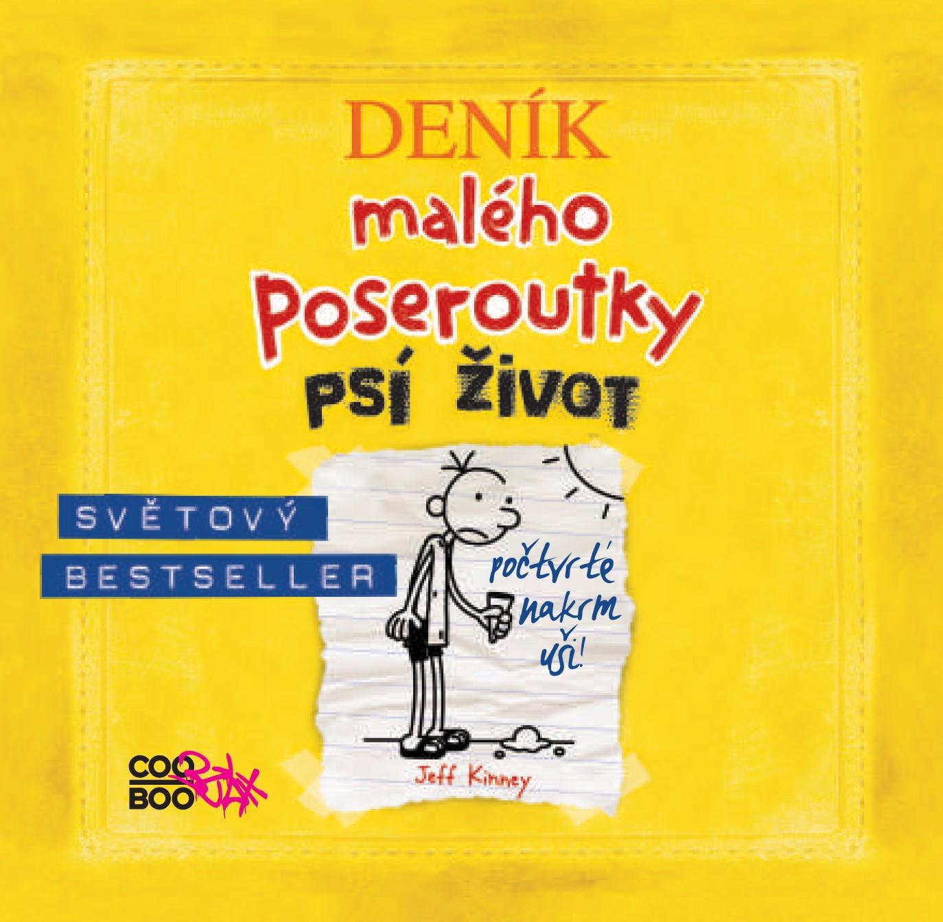 Deník malého poseroutky 4 - audio CD | Václav Kopta, Jeff Kinney