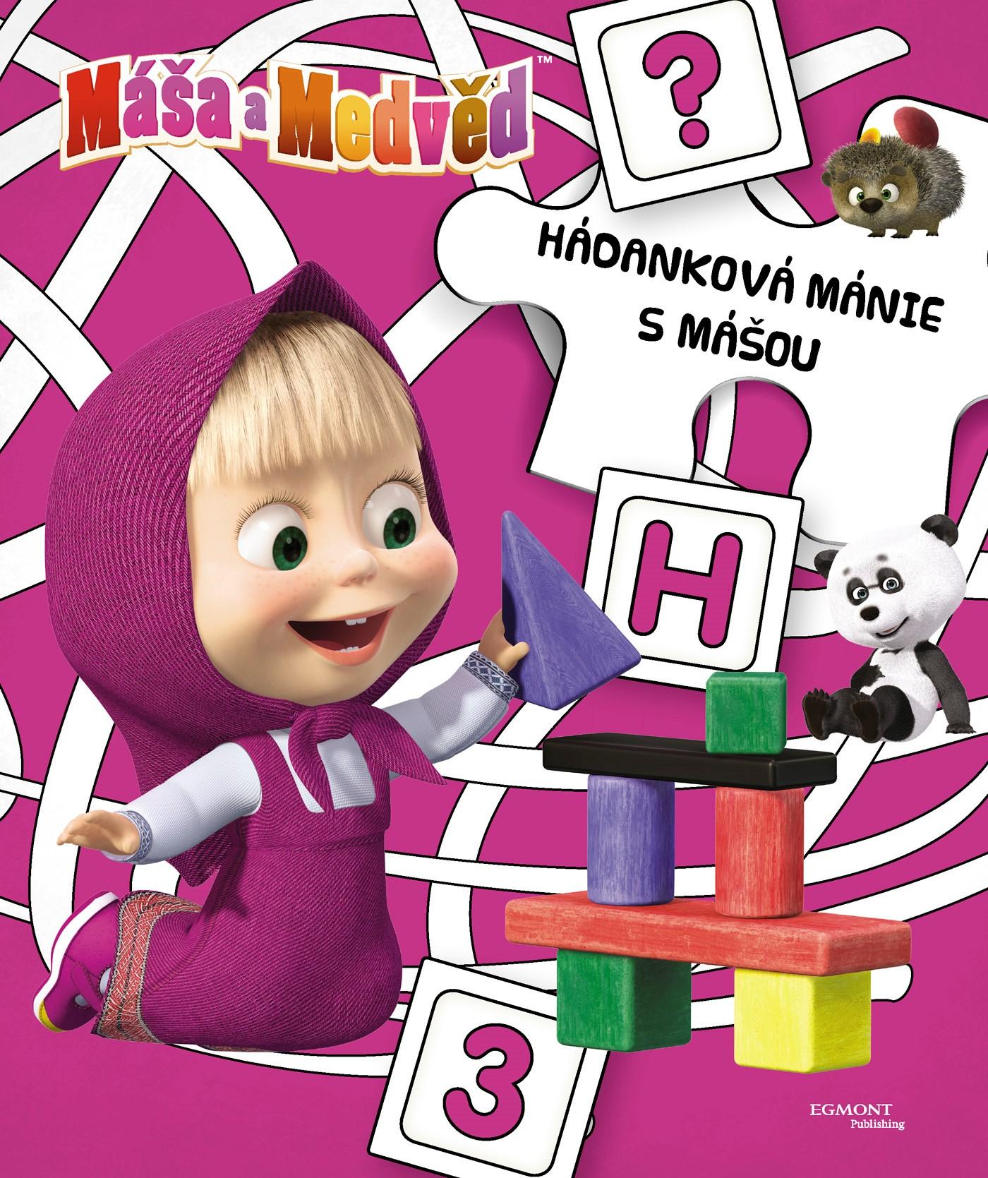 Máša a medvěd Hádanková mánie s Mášou | Animaccord