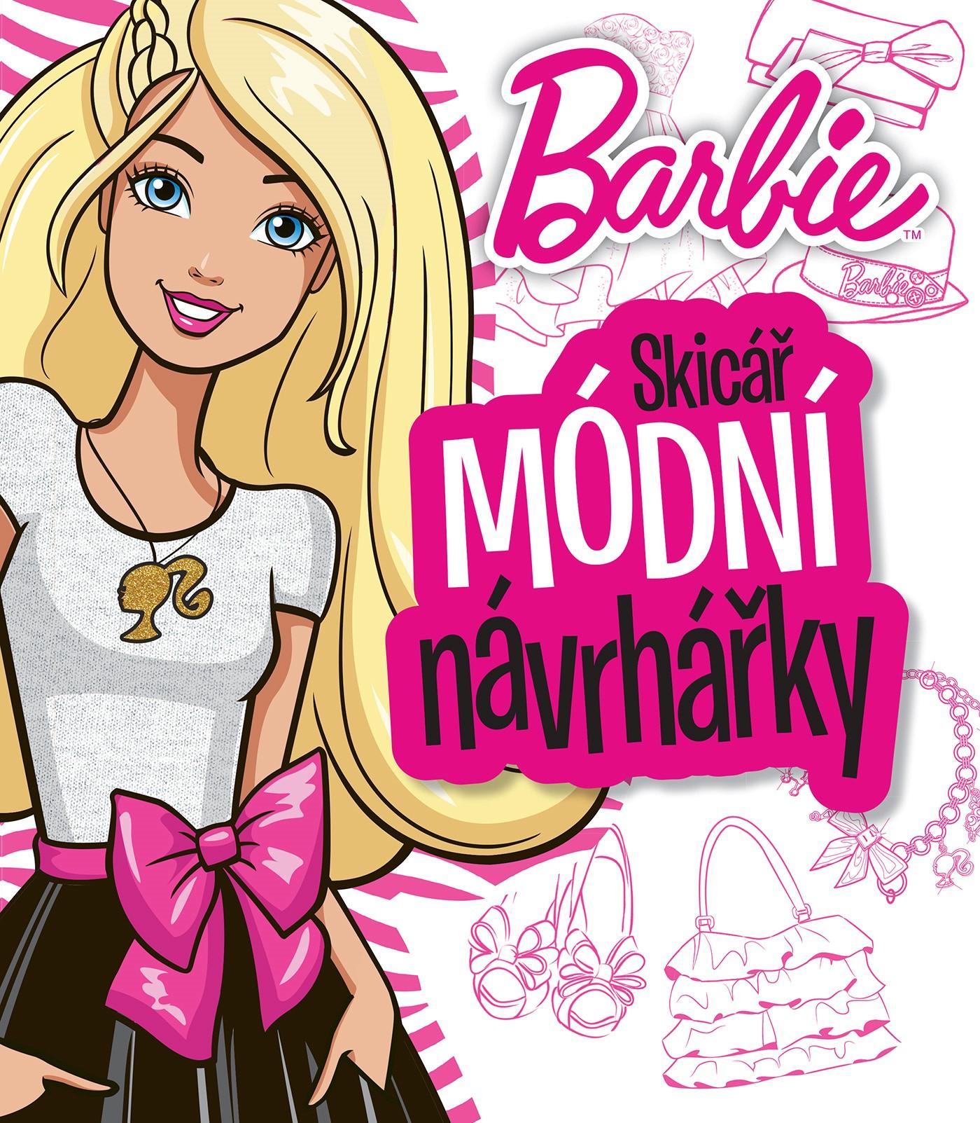 Barbie Skicář módní návrhářky |