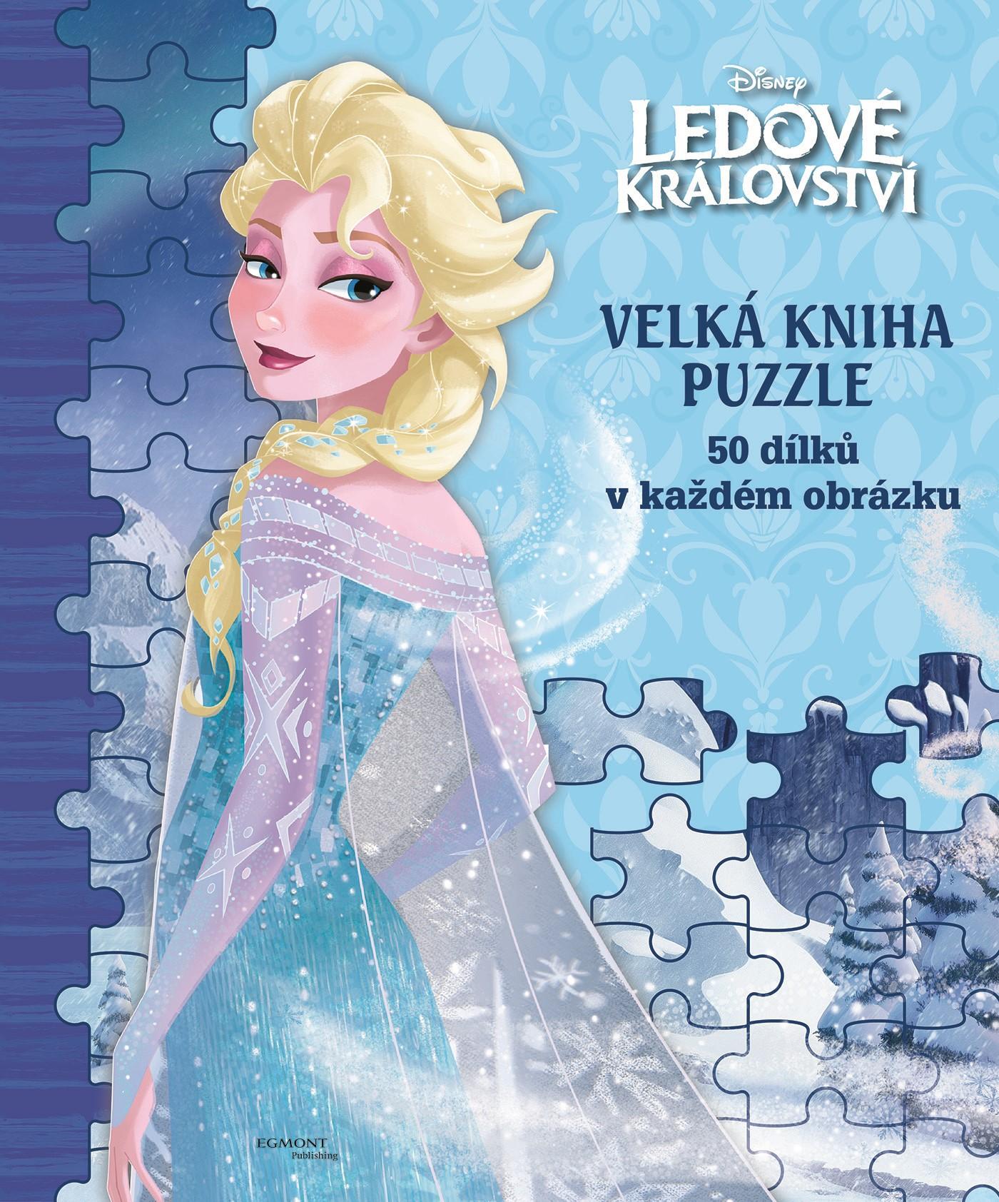 Ledové království Velká kniha puzzle |