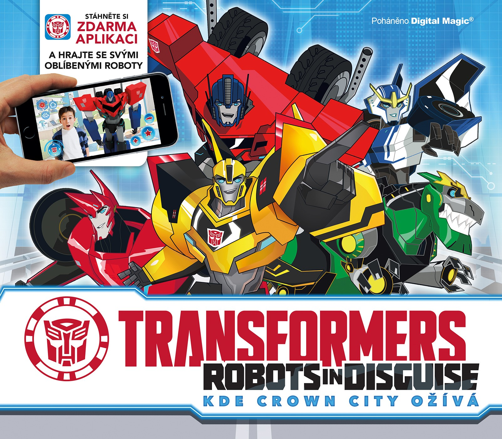 Transformers - Robots in Disguise - Kde Crown City ožívá