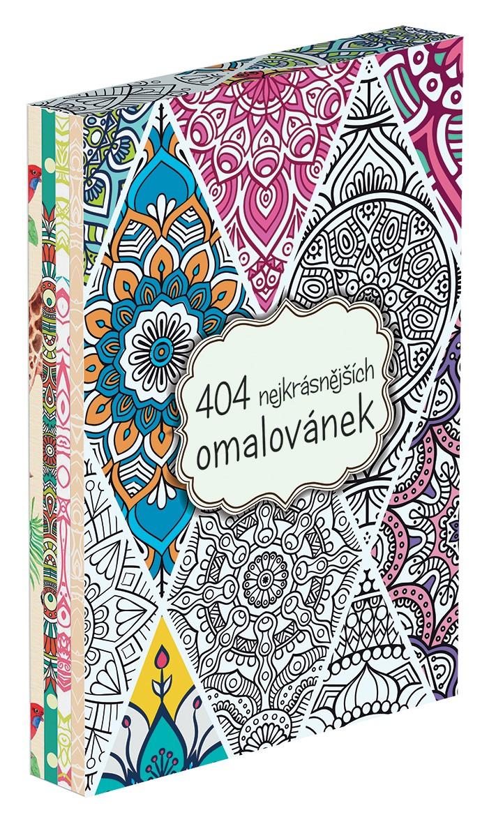404 nejkrásnějších omalovánek BOX | autora nemá