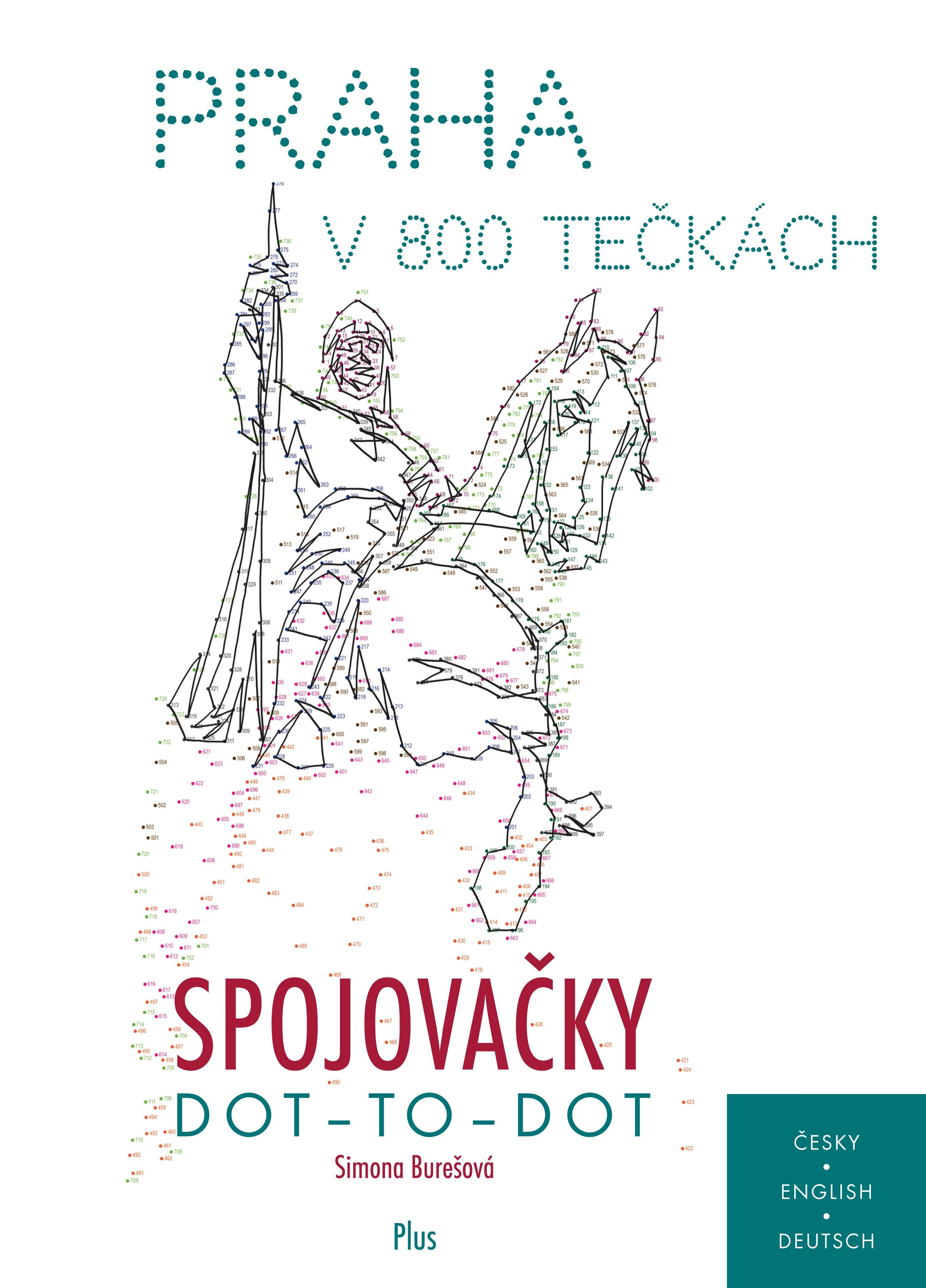 Spojovačky: Praha v 800 tečkách | Simona Burešová
