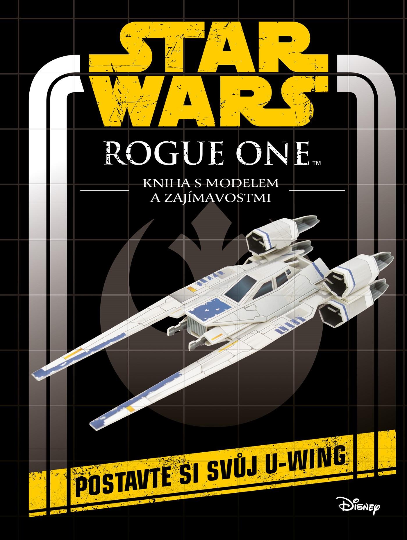 "Star Wars - <span class=""highlight"">Rogue One</span>: Kniha s modelem a zajímavostmi"