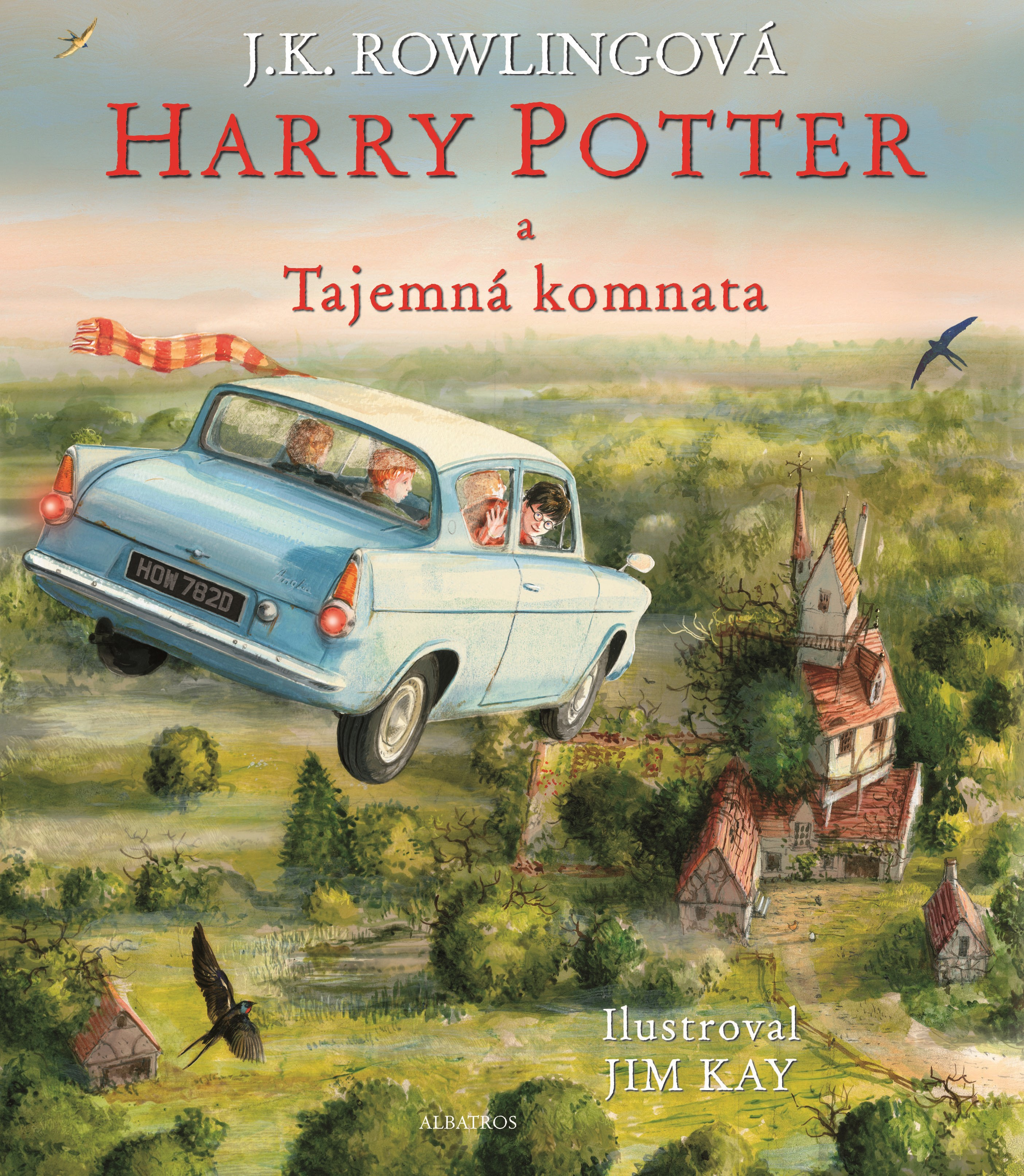 Harry Potter a Tajemná komnata - ilustrované vydání
