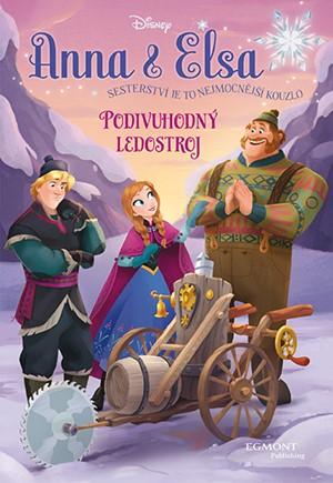 Anna a Elsa - Podivuhodný ledostroj   Walt Disney, Walt Disney