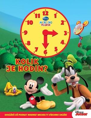 Mickeyho klubík - Kolik je hodin? (kniha s hodinami)