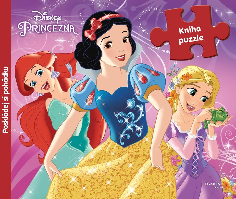 Princezna - Kniha puzzle - Poskládej si pohádku   Walt Disney, Walt Disney