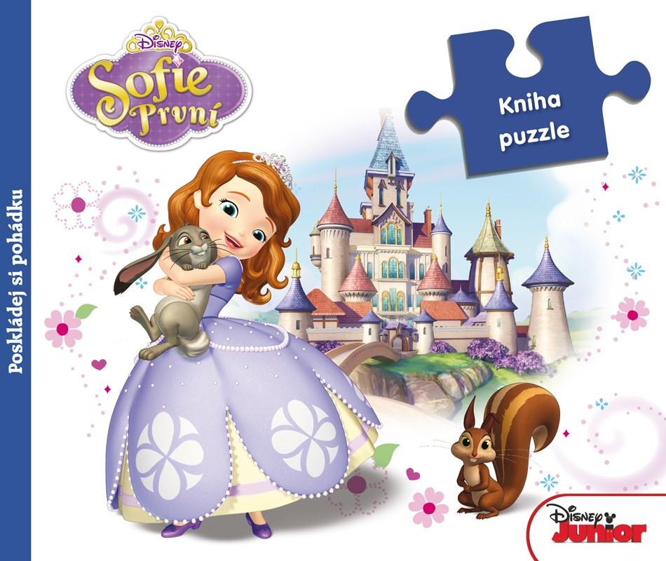 Sofie První - Kniha puzzle - Poskládej si pohádku   Walt Disney, Walt Disney