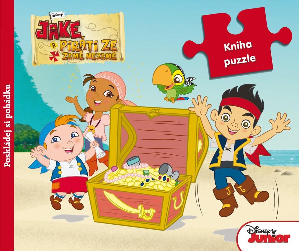 Jake a piráti ze Země Nezemě - Kniha puzzle - Poskládej si pohádku | Walt Disney