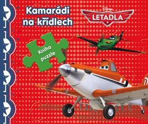 Letadla - Kniha puzzle - Poskládej si pohádku