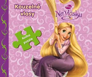 Na vlásku - Kouzelné vlasy - Kniha puzzle