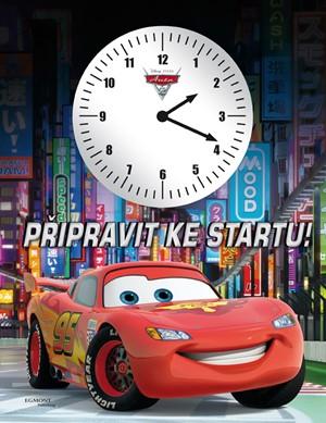 Auta 2 - Připravit ke startu! (kniha s hodinami)