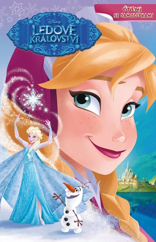 Ledové království - Čtení se samolepkami | Walt Disney, Walt Disney