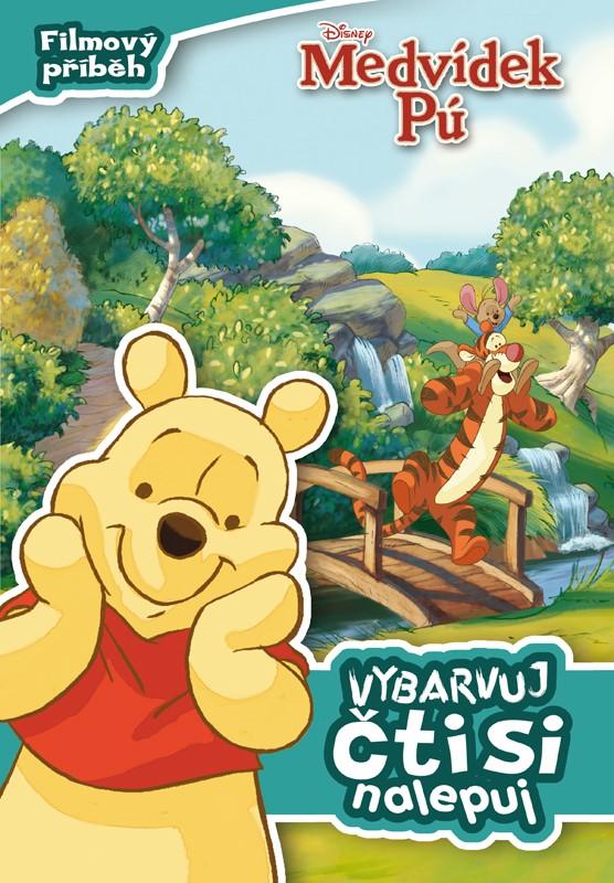 Medvídek Pú - Filmový příběh - Vybarvuj, čti si, nalepuj | Walt Disney, Walt Disney