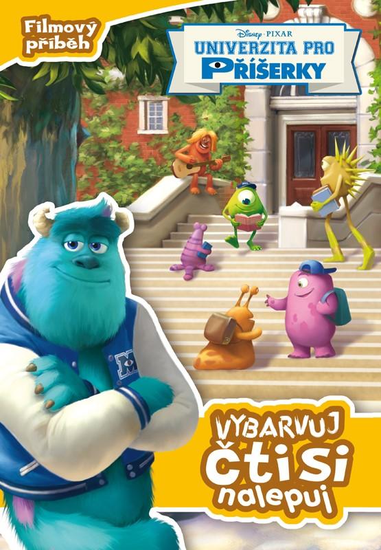 Univerzita pro příšerky - Filmový příběh - Vybarvuj, čti si, nalepuj | Pixar, Pixar