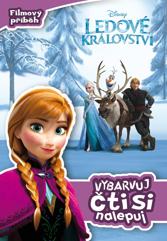 Ledové království - Filmový příběh - Vybarvuj, čti si, nalepuj | Walt Disney, Walt Disney