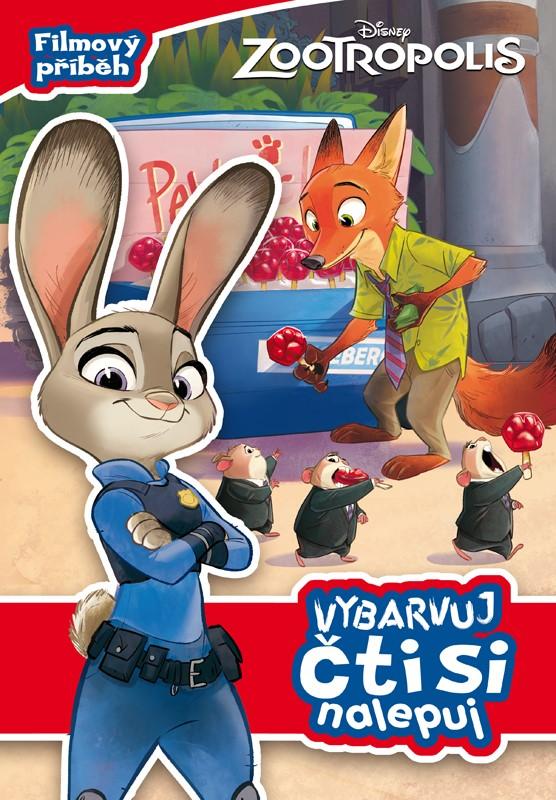 Zootropolis - Filmový příběh - Vybarvuj, čti si, nalepuj | Walt Disney, Walt Disney