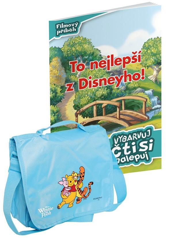 Vybarvuj, čti si + taška | Walt Disney, Walt Disney