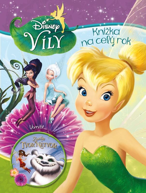 Víly - Knížka na celý rok - uvnitř - Zvonilka a tvor Netvor | Walt Disney, Walt Disney