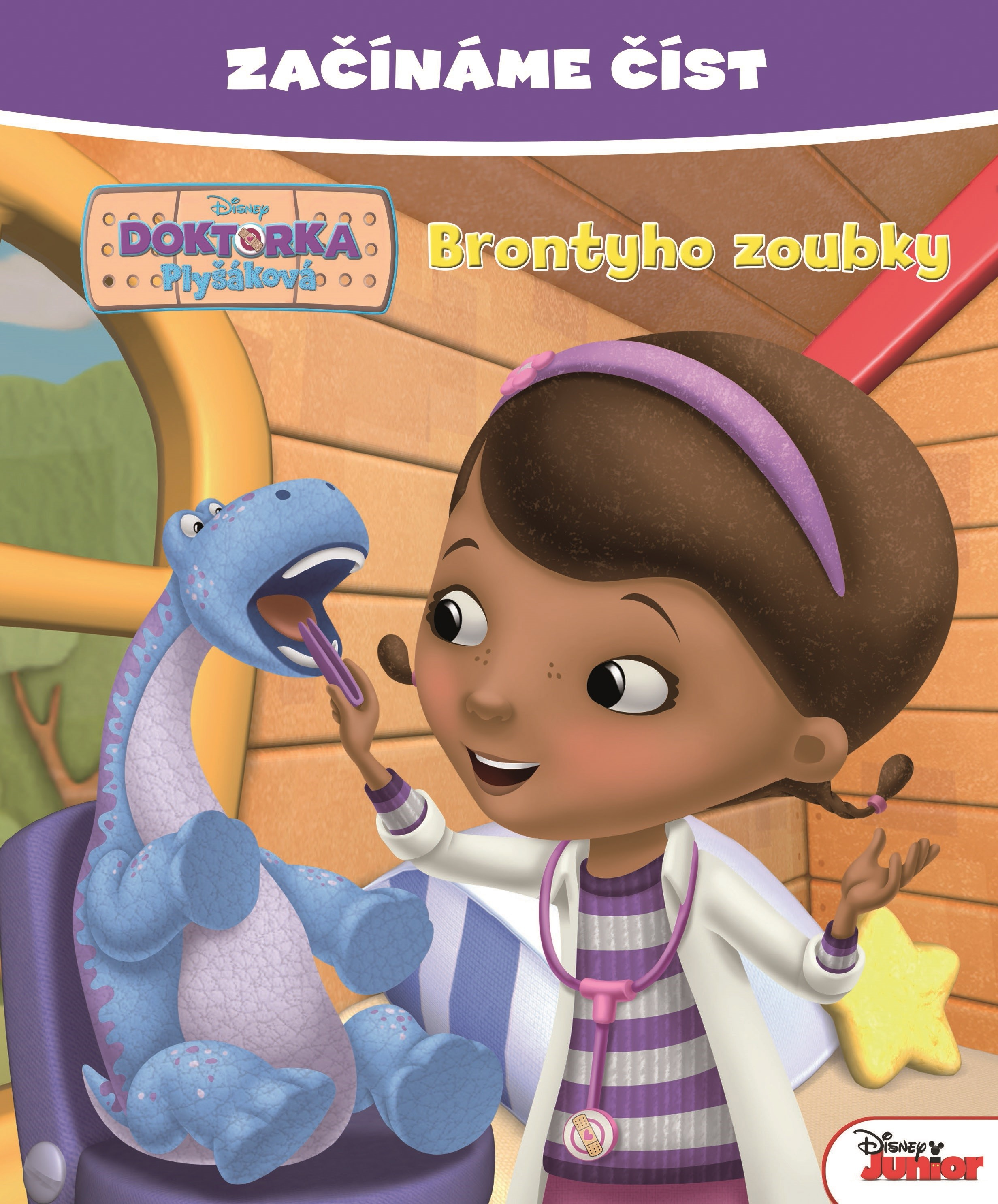 Začínáme číst - Doktorka Plyšáková - Brontyho zoubky | Walt Disney, Walt Disney