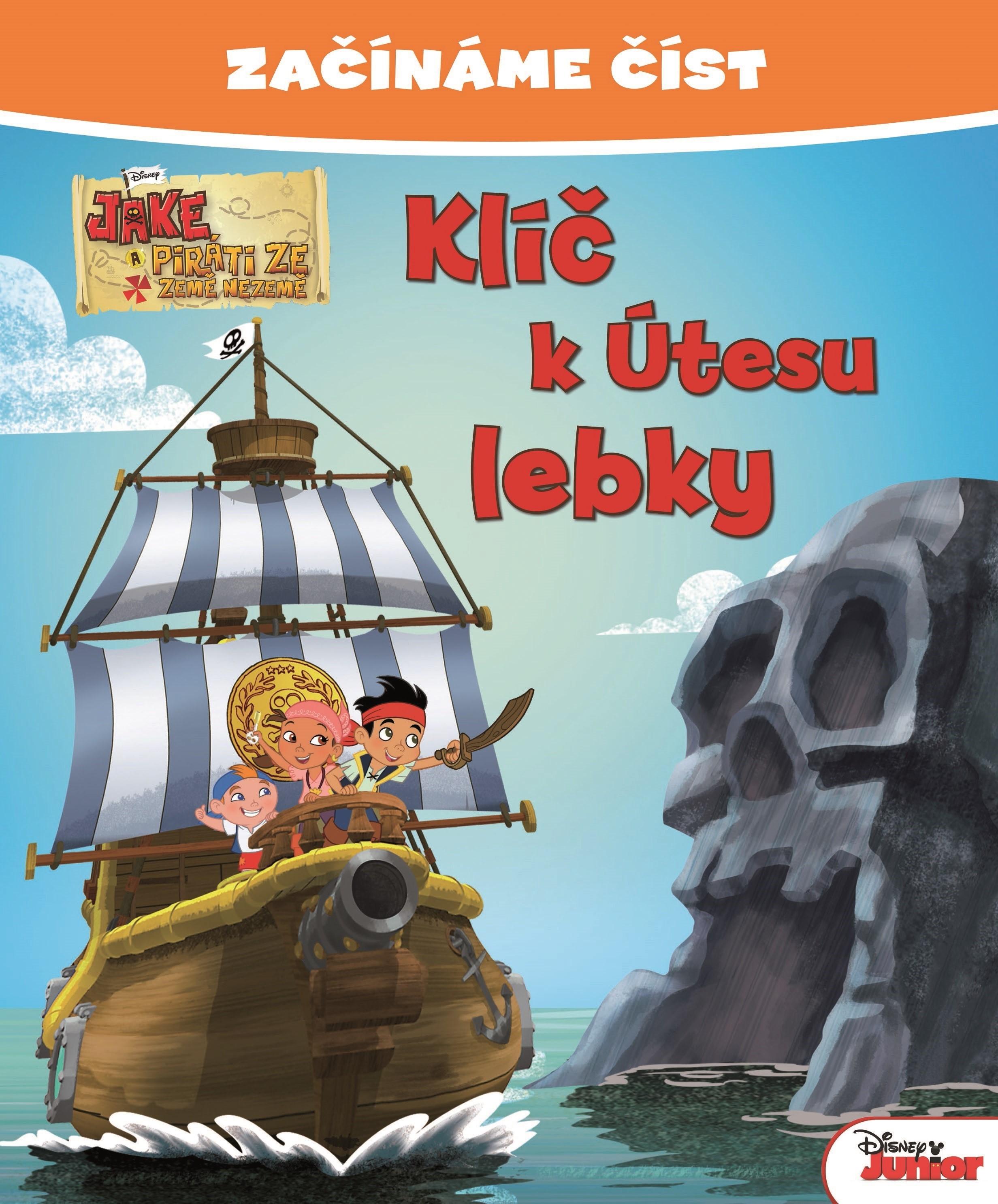 Začínáme číst - Jake a piráti ze Země Nezemě - Klíč k Útesu lebky   Walt Disney, Walt Disney