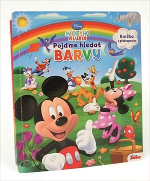 Mickeyho klubík - Pojďme hledat barvy - Knížka s překvapením