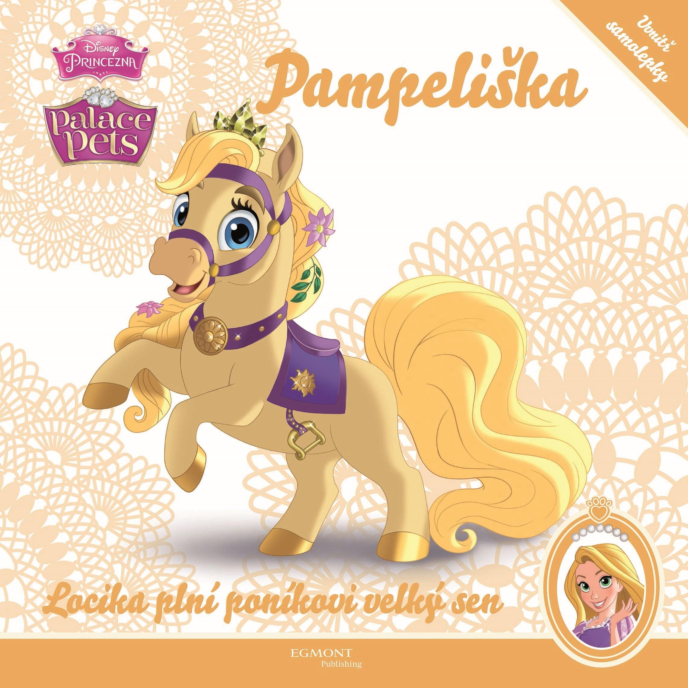 Princezna/Palace Pets - Pampeliška - Locika plní poníkovi velký sen | Walt Disney