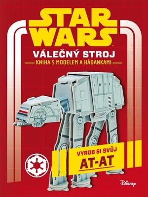 Star Wars - Válečný stroj - kniha s modelem a hádankami