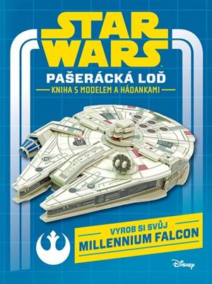 Star Wars - Pašerácká loď - kniha s modelem a hádankami