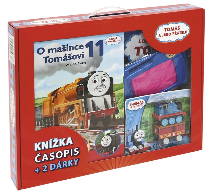 Tomáš a jeho přátelé - kniha, časopis + 2 dárky | Wilbert Vere Awdry