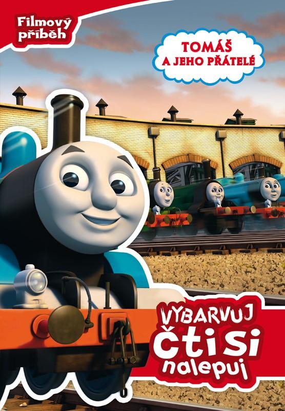 Tomáš a jeho přátelé - Filmový příběh - Vybarvuj, čti si, nalepuj   Wilbert Vere Awdry
