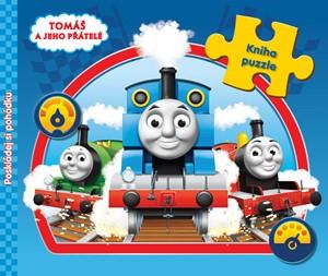 Tomáš a jeho přátelé - Kniha puzzle - Poskládej si pohádku