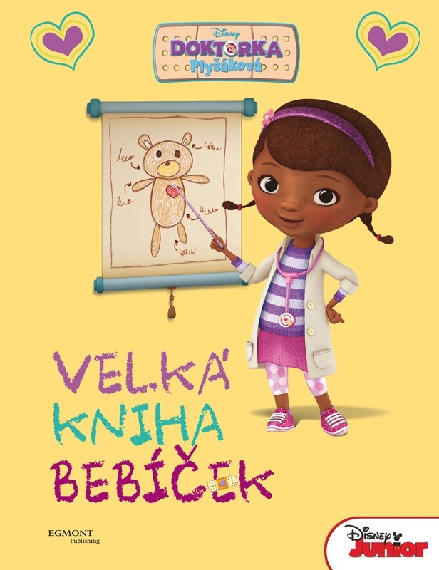 Doktorka Plyšáková - Velká kniha bebíček | Walt Disney, Walt Disney