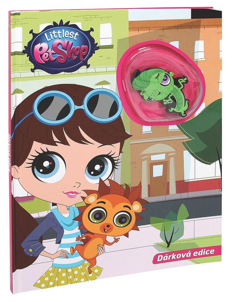 Littlest Pet Shop - Dárková edice - Kniha s hračkou | Hasbro, Hasbro