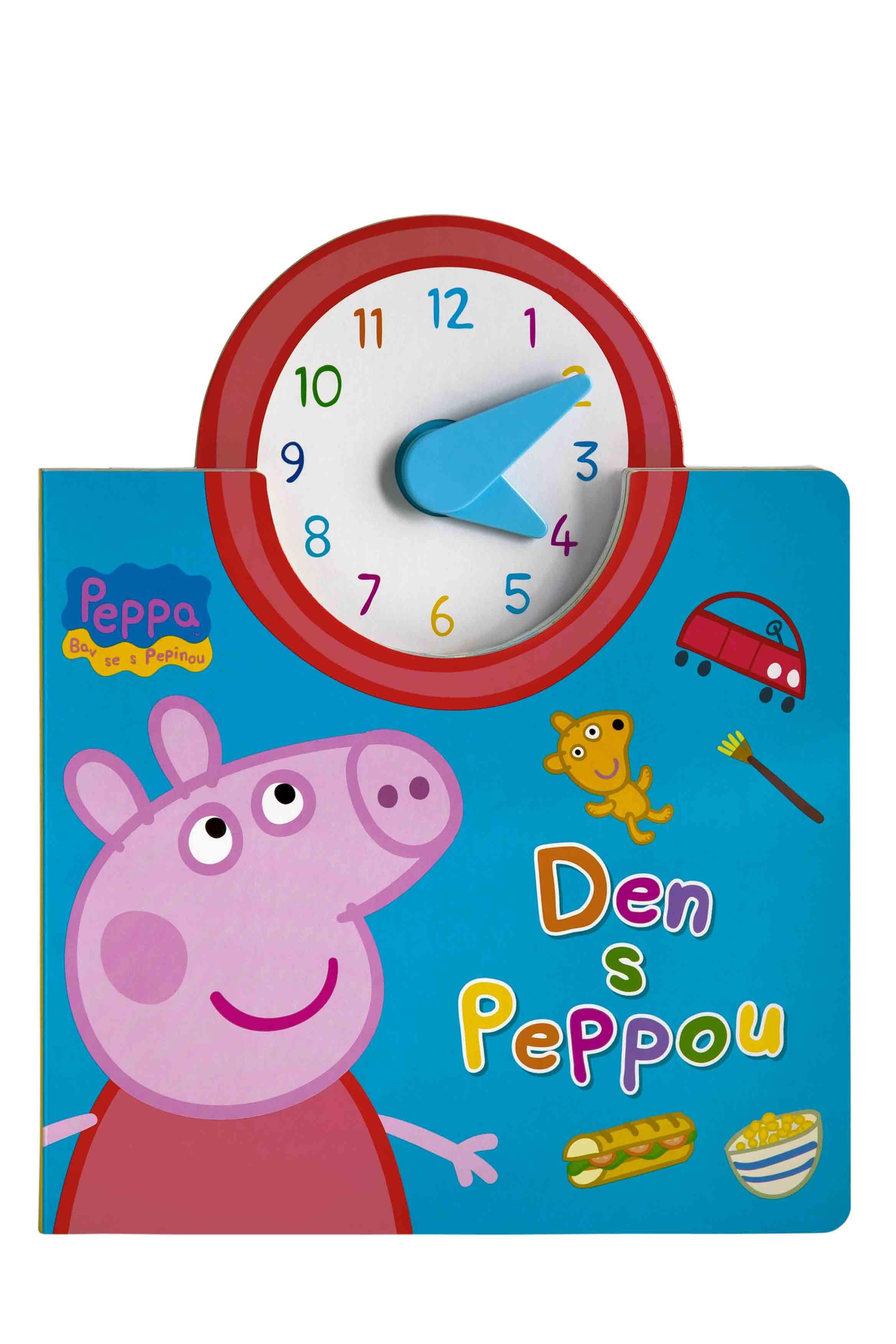 Egmont Peppa - Bav se s Pepinou - Den s Peppou (kniha s hodinami) |