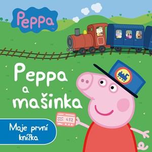 Peppa - Peppa a mašinka - Moje první knížka