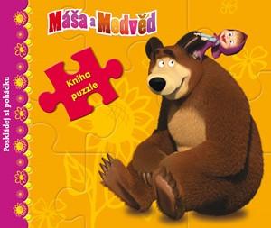 Máša a medvěd - Kniha s puzzle - Poskládej si pohádku