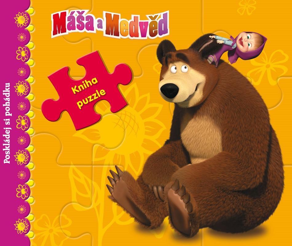 Máša a medvěd - Kniha s puzzle - Poskládej si pohádku |