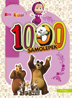 Máša a medvěd - 1000 samolepek |