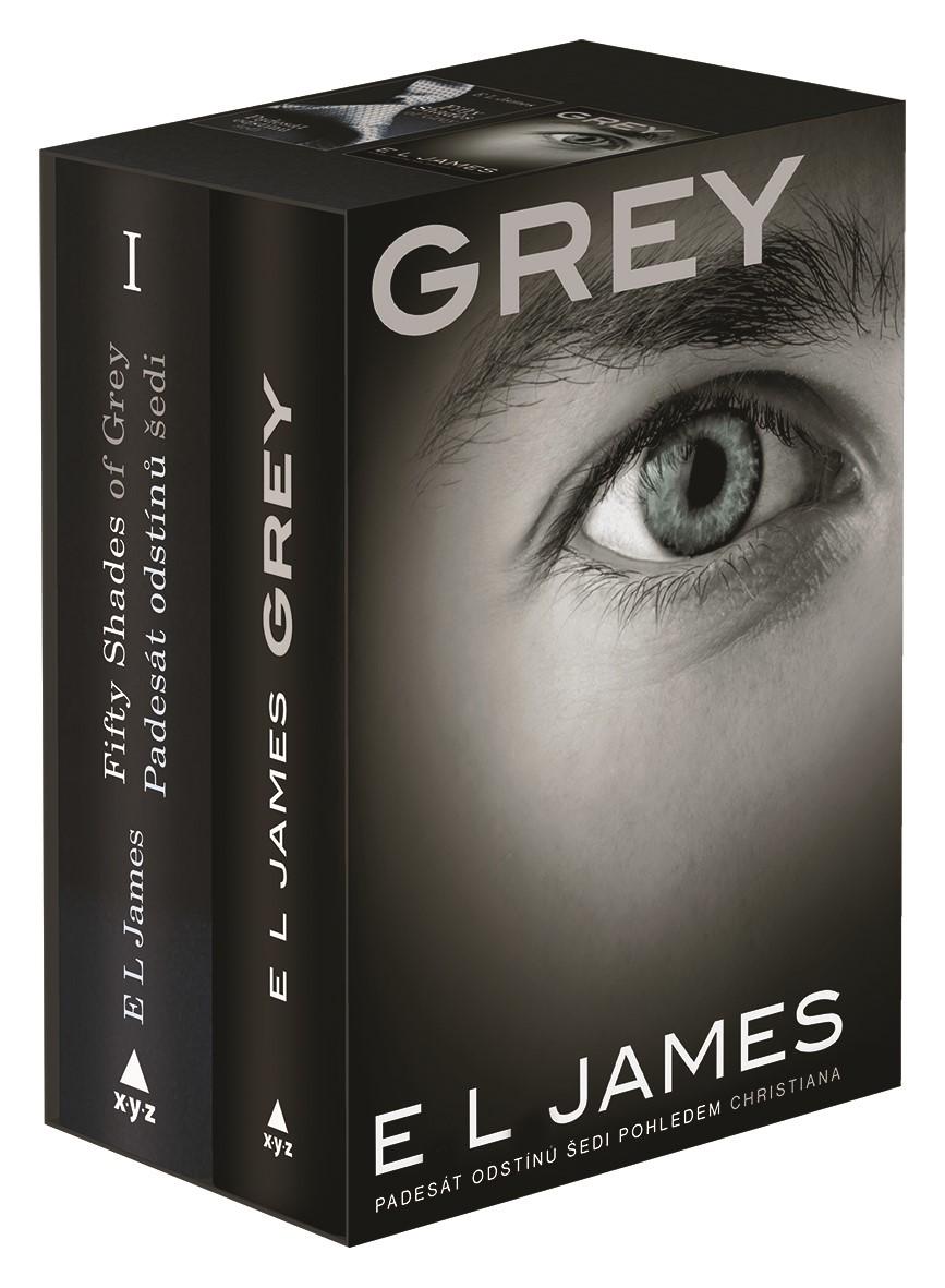 Padesát odstínů šedi + Grey BOX | E L James