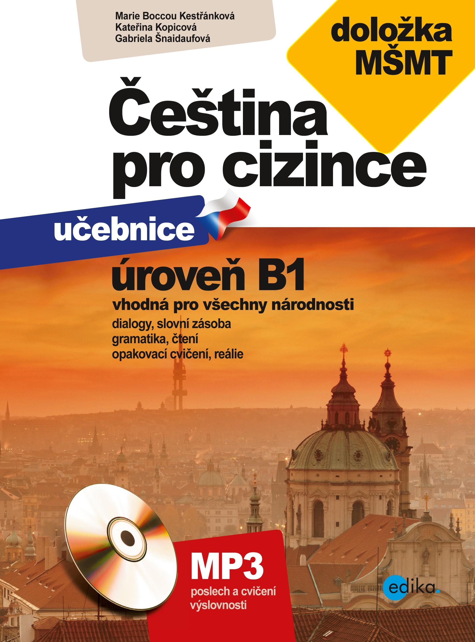 Čeština pro cizince B1 | Marie Boccou Kestřánková