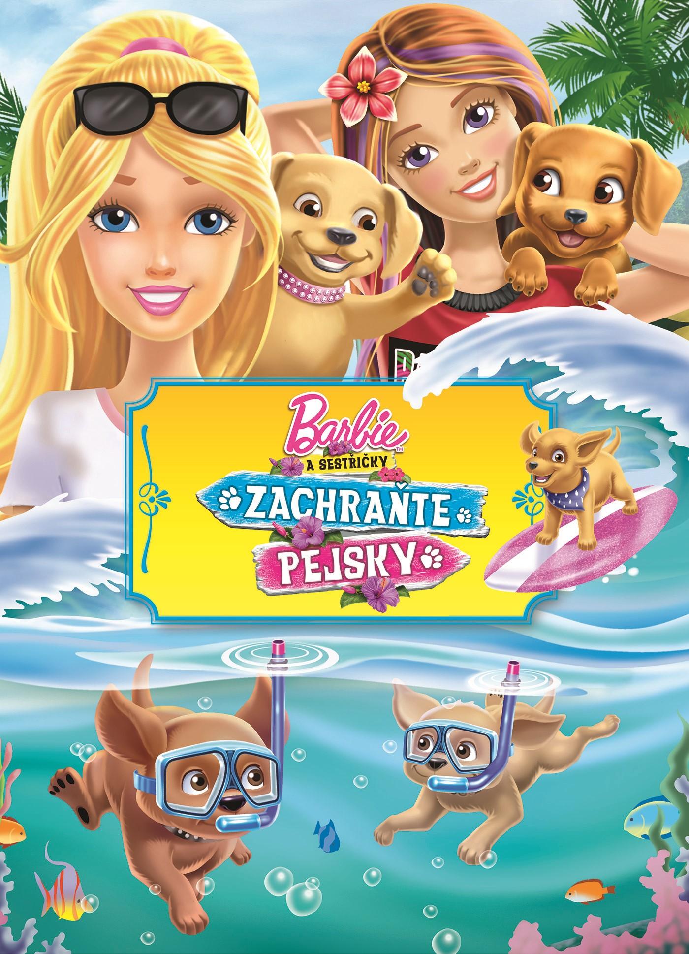 Barbie a sestřičky Zachraňte pejsky Filmový příběh